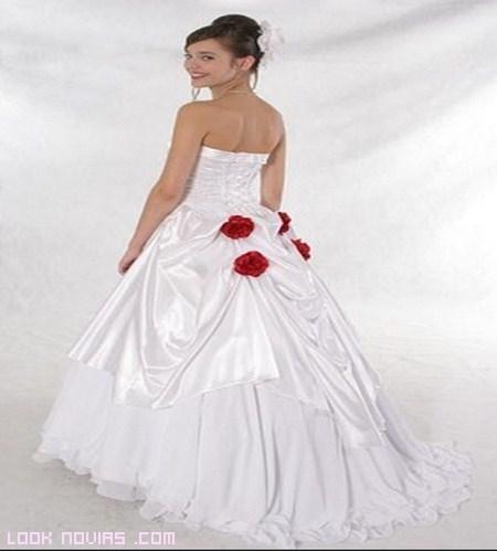 Rosas para novias