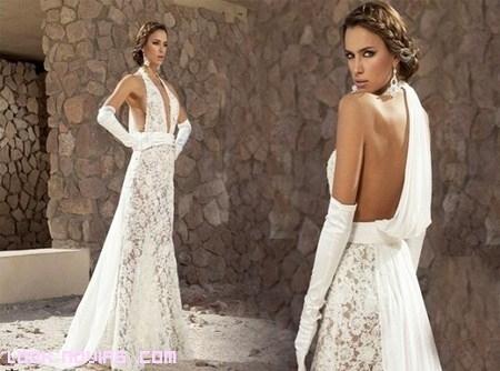 Irina Shayk se viste de novia sexy y elegante