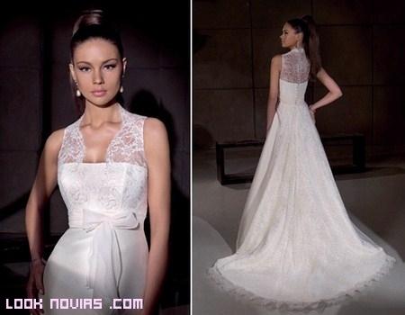 Las novias Villais, elegantes y románticas