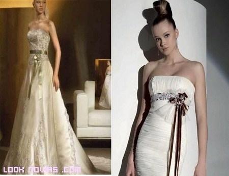 Como hacer lazos para vestidos de novia
