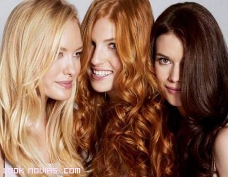 colores de cabello para novia