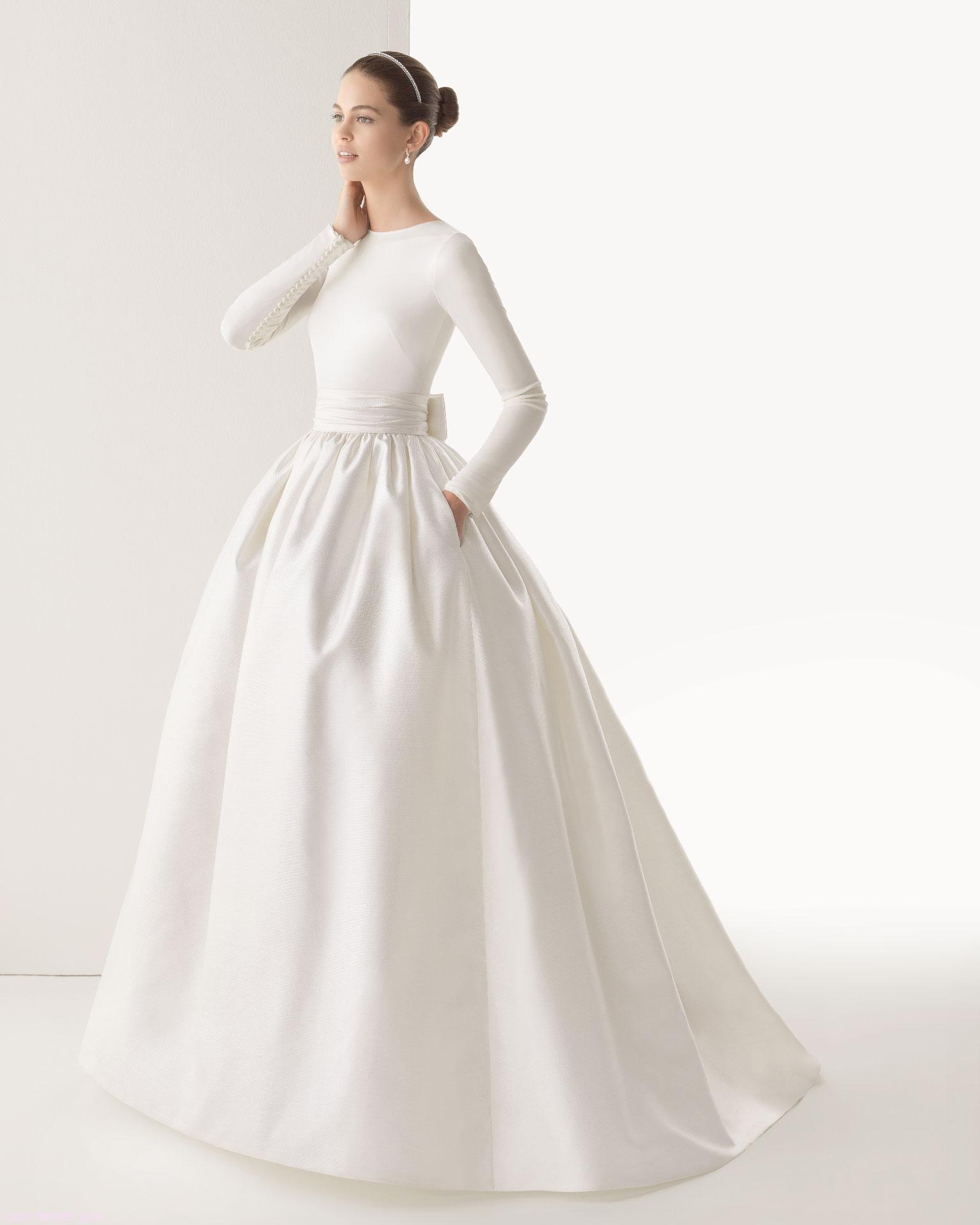 faldas abullonadas en novias