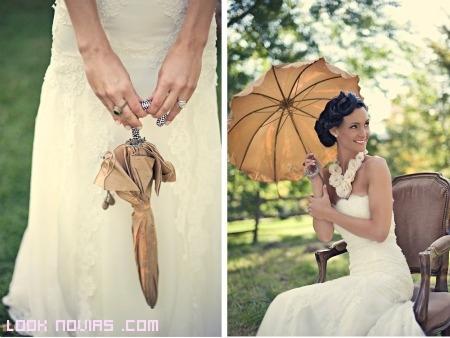 Paraguas para novias