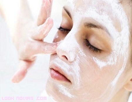 Un peeling facial para la novia