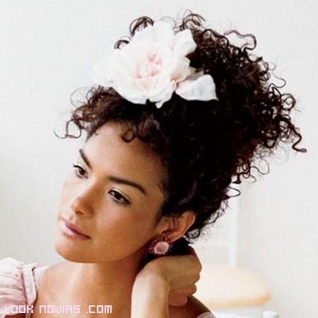 Peinados de novia con estilo