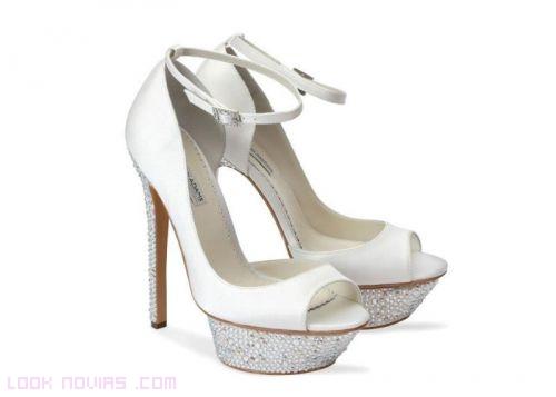 zapatos modernos para novias