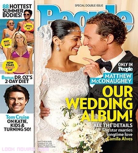 Boda de Matthew McConaughey y Camila Alves