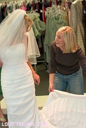 vestidos de novia rectos