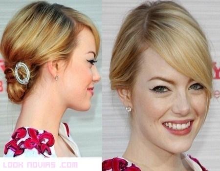 Peinados Emma Stone 2012