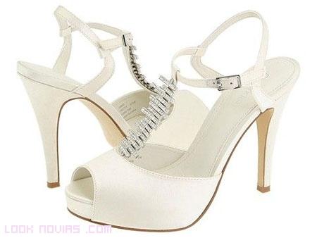 Zapatos de Novia para este 2012