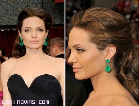 Peinados de Angelina Jolie para tu boda