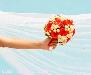 ramos de novia con colores