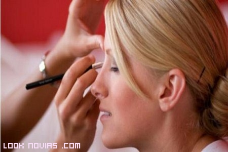 Maquillaje difuminado para novias