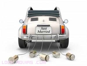 coches adornados para novios