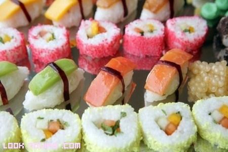 Una barra libre de...¿sushi?