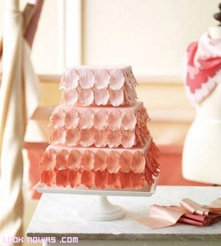 Obras de arte en forma de tarta por Martha Stewart
