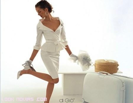 trajes vintage para novias