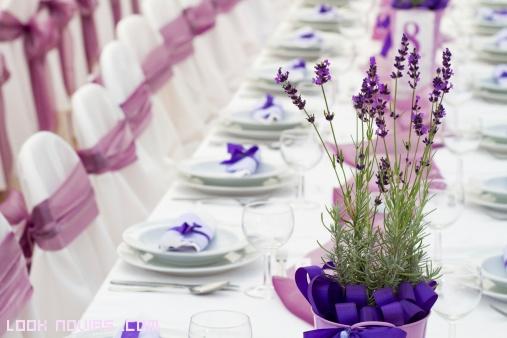 mesas elegantes decoradas para boda