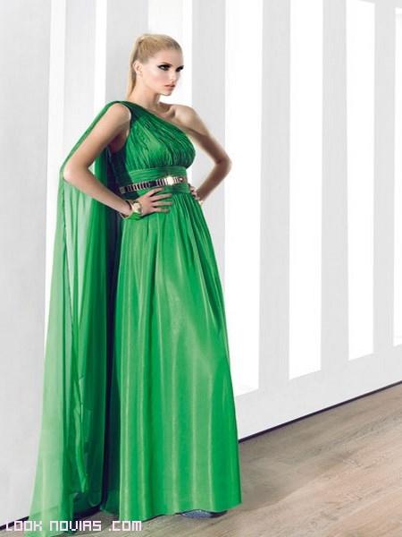 vestidos asimétricos largo