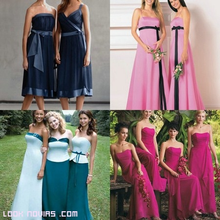 Tips para coordinar el look de las damas de honor