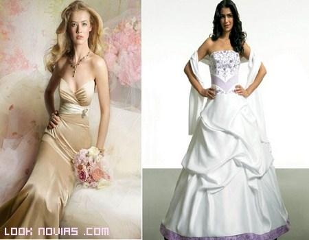 Clases de blancos para tu vestido