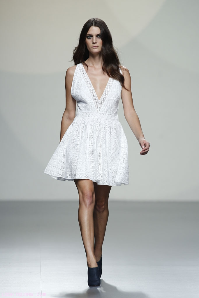 vestidos con escote V