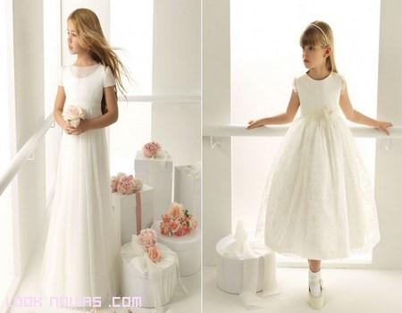 Vestidos de comunión por Rosa Clará