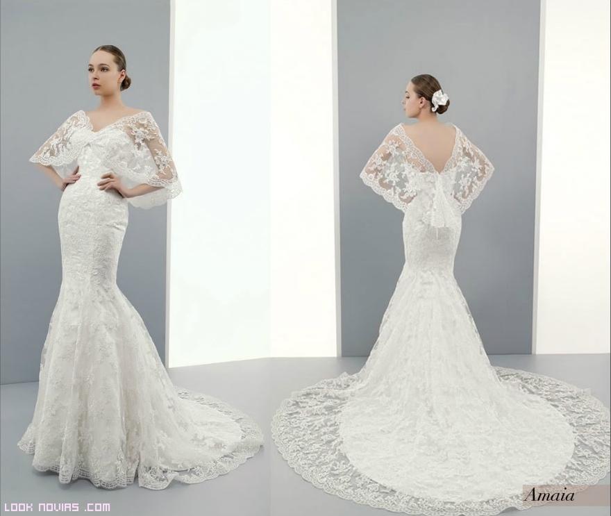 Chaquetas bordadas para novia
