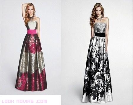 Vestidos de gala estampados