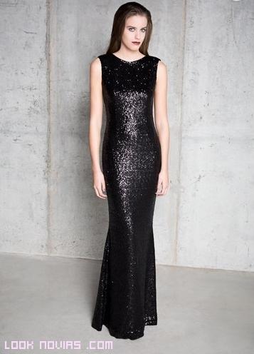 Vestidos en color negro para bodas