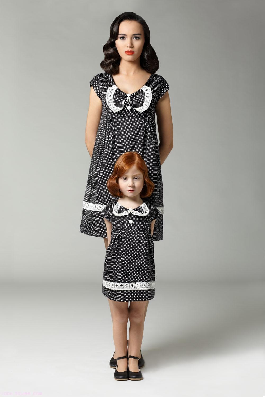 Vestidos vintage con puntilla