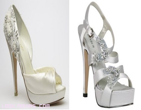 Novias con zapatos Menbur