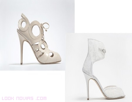 Zapatos Monique L´Huillier 2013