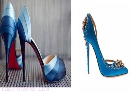 zapatos para invitadas llenos de color