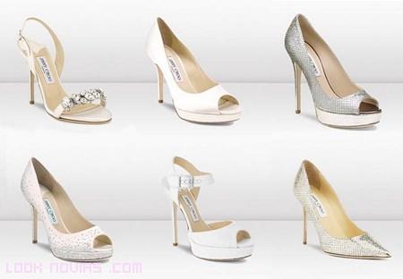 Sandalias de novia 2013