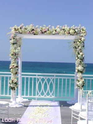 altar elegante para bodas