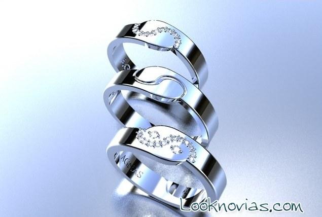 anillos ana g nas con simbolos