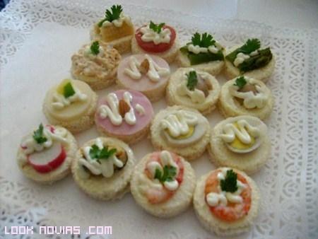Ideas para el aperitivo de boda for Canape para coctel