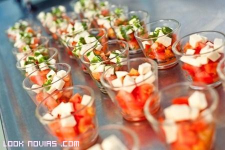 Ideas para el aperitivo de boda
