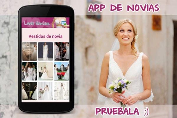 Aplicación de novias en tu movil