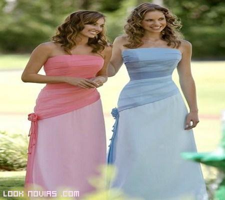 Vestidos para las Damas de Honor 2012