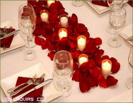 Decoraciones originales para el banquete