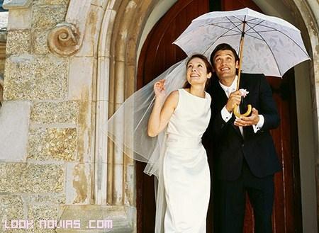 ¿Qué hacer si llueve el día de la boda?