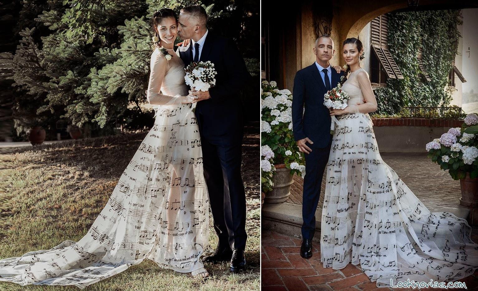 boda del cantante Eros Ramazzotti