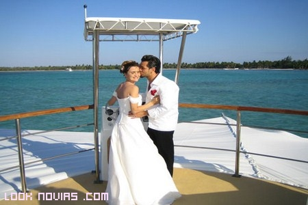 Casarse en alta mar