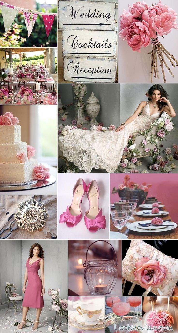 boda en rosa