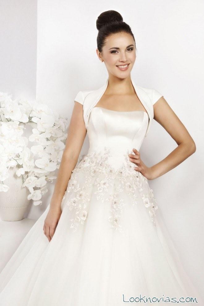 boleros para completar tu vestido de novia
