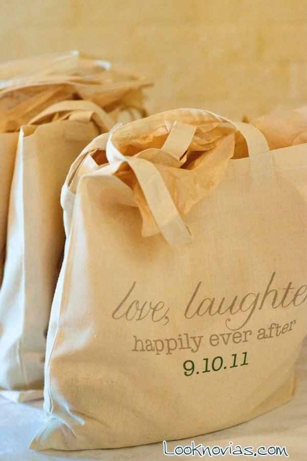 bolsas de tela para boda