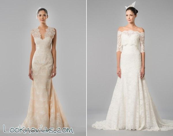6 vestidos de Carolina Herrera para otoño 2015
