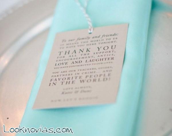 Ideas para escribir los agradecimientos de los regalos